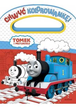 Chwyć kolorowankę. Tomek i przyjaciele