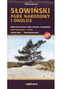 Słowiński Park Narodowy i okolice 1:50 000