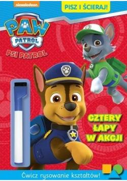 Psi Patrol. Pisz i ścieraj! Cztery łapy w akcji