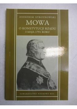 Mowa o Konstytucji Rządu 3 maja 1791 r.