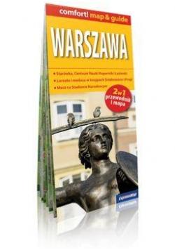 Comfort!map&guide Warszawa 1:26 000 2w1 mapa
