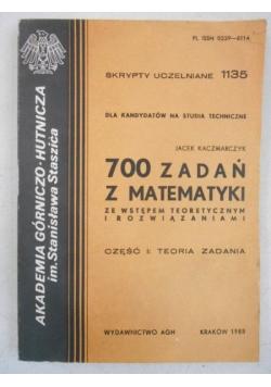 700 zadań z matematyki ze wstępem teoretycznym i rozwiązaniami