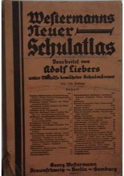 Weltermanns Neuer Schulatlas, 1941 r.