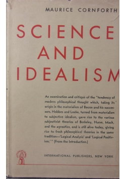 Science And Idealism 1947