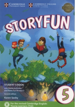 Storyfun 5 Student's Book with Online Activities and Home Fun Booklet