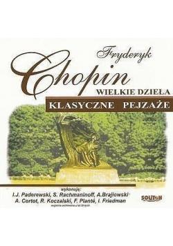 Wielkie dzieła. Klasyczne pejzaże. F. Chopin CD