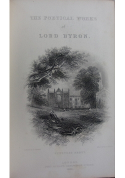 The poetical works of Lord Byron, 1883 r.