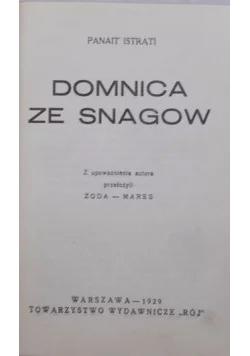 Domnica ze Snagow,1929r.