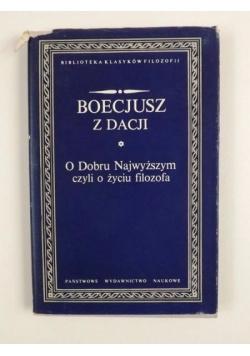 Boecjus   - O Dobru Najwyżsym cyli o życiu filoofa, BKF