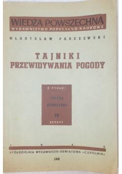 Tajniki przewidywania pogody, 1949 r