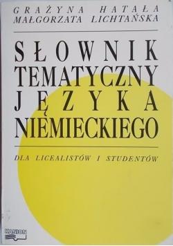 Grażyna - Słownik tematyczny języka niemieckiego