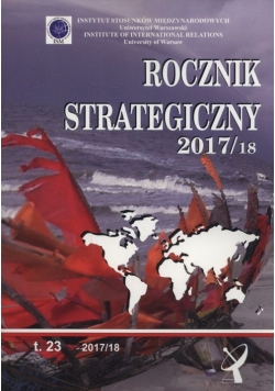 Rocznik strategiczny 2017/2018 Tom 23