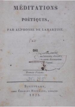 Méditations poétiques, 1828 r.