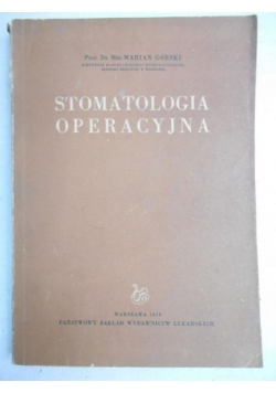 Stomatologia operacyjna