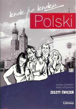 Polski krok po kroku. Zeszyt ćwiczeń A2 + CD