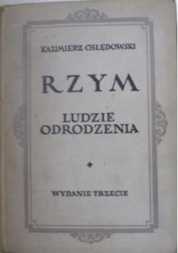Rzym - Ludzie odrodzenia, 1921 r.