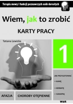 Wiem, jak to zrobić - Karty pracy - cz. 1