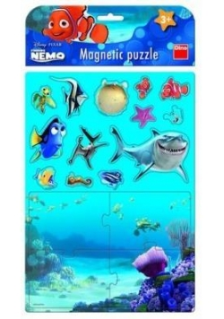 Puzzle Magnetyczne Nemo DINO