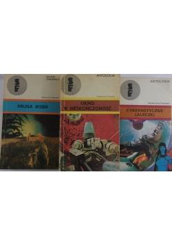 Druga jesień/ Okno w nieskończoność/ Cybernetyczne laleczki, zestaw 2 książek