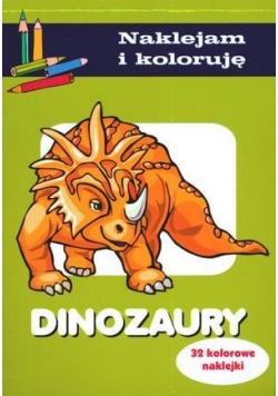 Naklejam i koloruję - Dinozaury