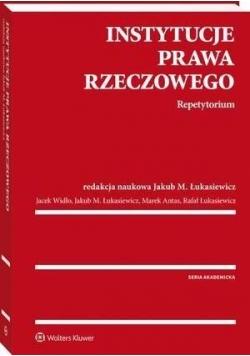 Instytucje prawa rzeczowego. Repetytorium