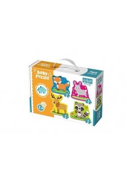 Puzzle Baby Classic - Zwierzęta Leśne TREFL