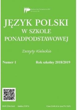 Język polski w szkole ponadpodst. nr 1 2018/2019