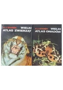 Wielki atlas zwierząt/ Wielki atlas owadów