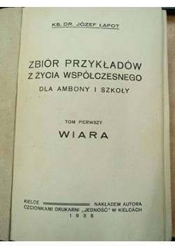 Zbiór przykładów z życia współczesnego, 1935 r.