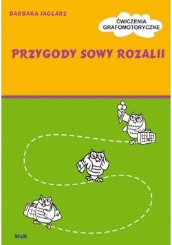 Przygody Sowy Rozalii - Ćwiczenia grafomotoryczne