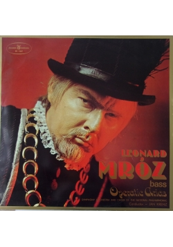 Leonard Mróz, płyta winylowa