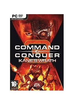 Command Conquer Kane's Wrath. Expansion Pack, DVD, Nowa