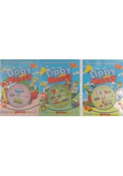 Lippy and Messy Hello spring + płyta CD - Zestaw 3 książek