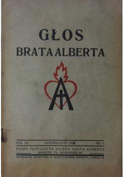 Głos Brata Alberta, 1938r.