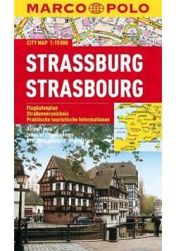 Plan Miasta Marco Polo. Strassburg