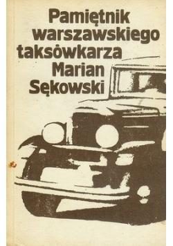Pamiętnik warszawskiego  taksówkarza