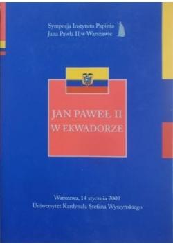 Jan Paweł II w Ekwadorze