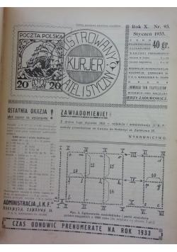 Ilustrowany kurjer filatelistyczny, 1933r.