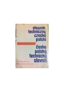 Słownik techniczny czesko polski