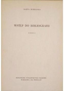 Wstęp do bibliografii