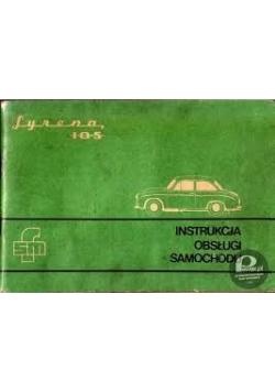 Syrena 105, instrukcja obsługi samochodu