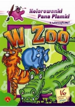 Kolorowanki Pana Plamki - W Zoo ALEX