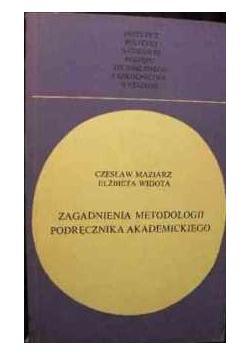 Zagadnienia metodologii podręcznik akademickiego