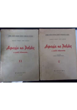 Agresja na Polskę w świetle dokumentów, Tom I-II, 1946 r.