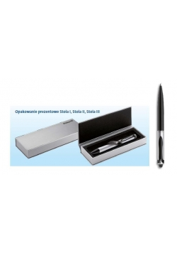 Długopis Stola 2 Stylus czarny/srebrny