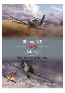 Bf 109 e/f vs jak 1-7 front wsch. 1941-1942