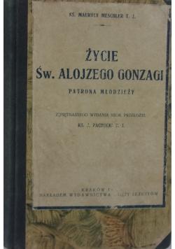Życie św. Alojzego Gonzagi, 1923 r.
