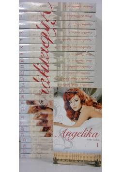 Angelika, zestaw 25 tomów