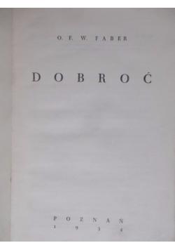Dobroć, 1934 r.