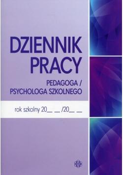 Dziennik pracy pedagoga / psychologa szkolnego